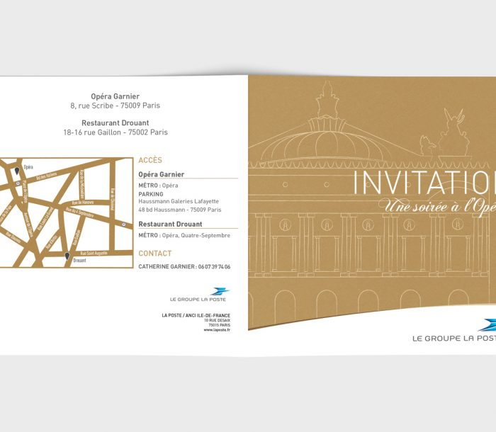 Invitation Groupe La Poste